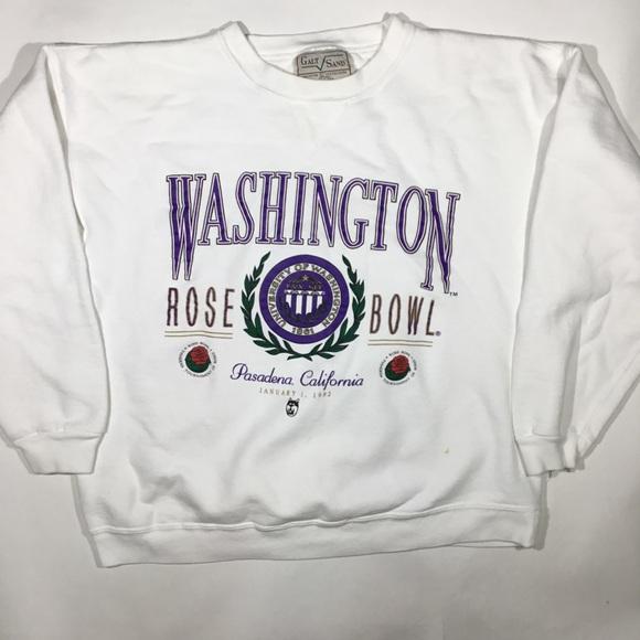 huge selection of 56627 39eb5 Vintage 1992 rose bowl Washington huskies crewneck